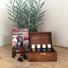 Aromatherapie boeken en benodigdheden