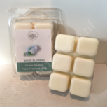 White Flowers waxmelts 6x80gram