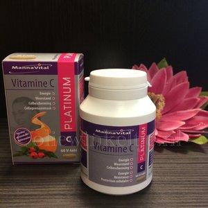 Mannavital Vitamine C Platinum