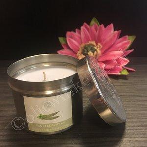 Mint Eucalyptus - geurkaars 150 gram
