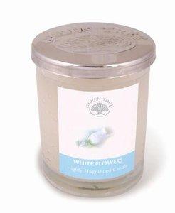 White Flowers - geurkaars 200 gram