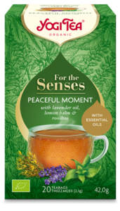 Yogi Tea Peaceful Moment for the senses