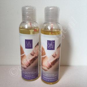 Kado tip Lavinchi relax badolie en massageolie verwenpakket