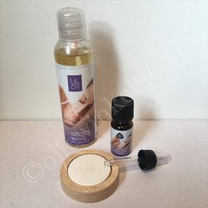 Kado tip Lavinchi relax badolie en etherische olie verwenpakket