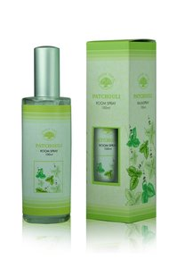 green tree roomspray patchouli