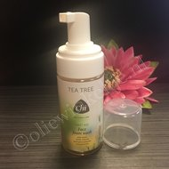 tea tree face foam wash